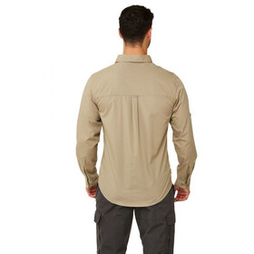 Craghoppers Kiwi Boulder Camicia a maniche lunghe Uomo, rubble